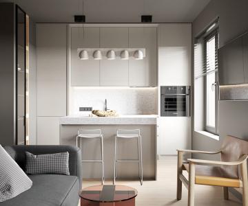 Kiến tạo không gian sống tối giản cho căn hộ Studio