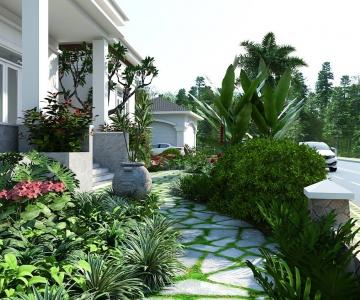 Thiết Kế Sân Vườn Đẹp Cho Nhà Bạn