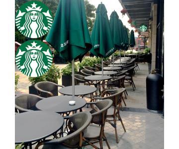 GHẾ CAFE NGOÀI TRỜI STARBUCK4/10