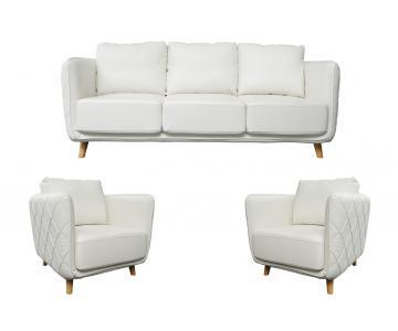 Bộ sofa da công nghiệp cao cấp Sorrento Lauren ABQ038
