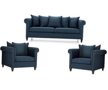 Bộ sofa vải phòng khách cao cấp Sorrento Durham AB9268