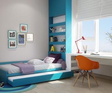 Trang Trí phòng em bé nhiều màu sắc