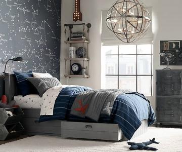 Những ý Tưởng Thiết Kế Phòng Ngủ Cho Bé Trai