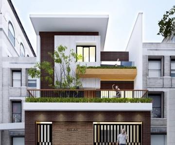 Mẫu Nhà Phố Đẹp 2016
