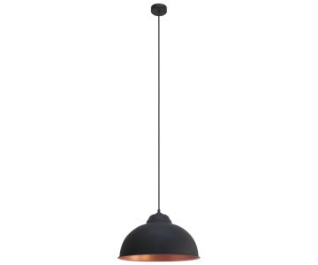 Đèn thả hiện đại Truro 2 màu đen