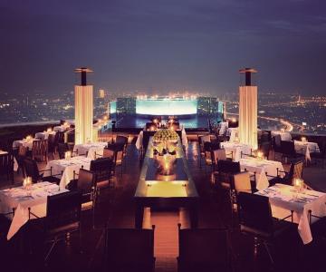Thiết Kế Sky Bar & Restaurant