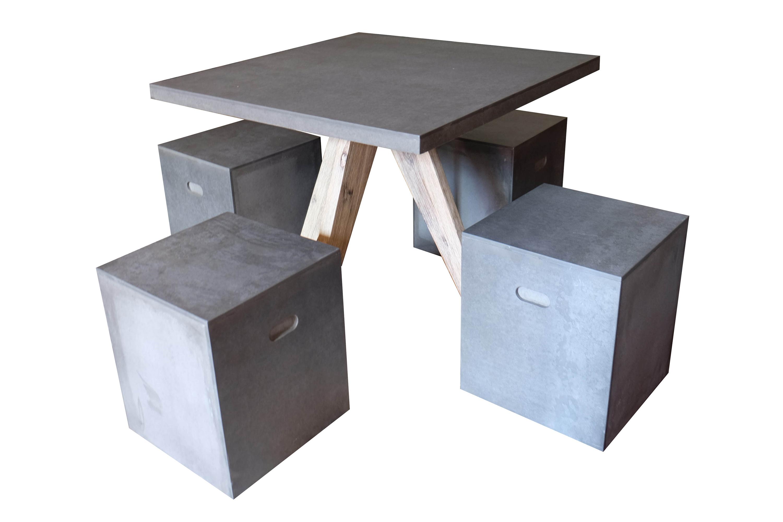 Bộ bàn Cement fiber1/5