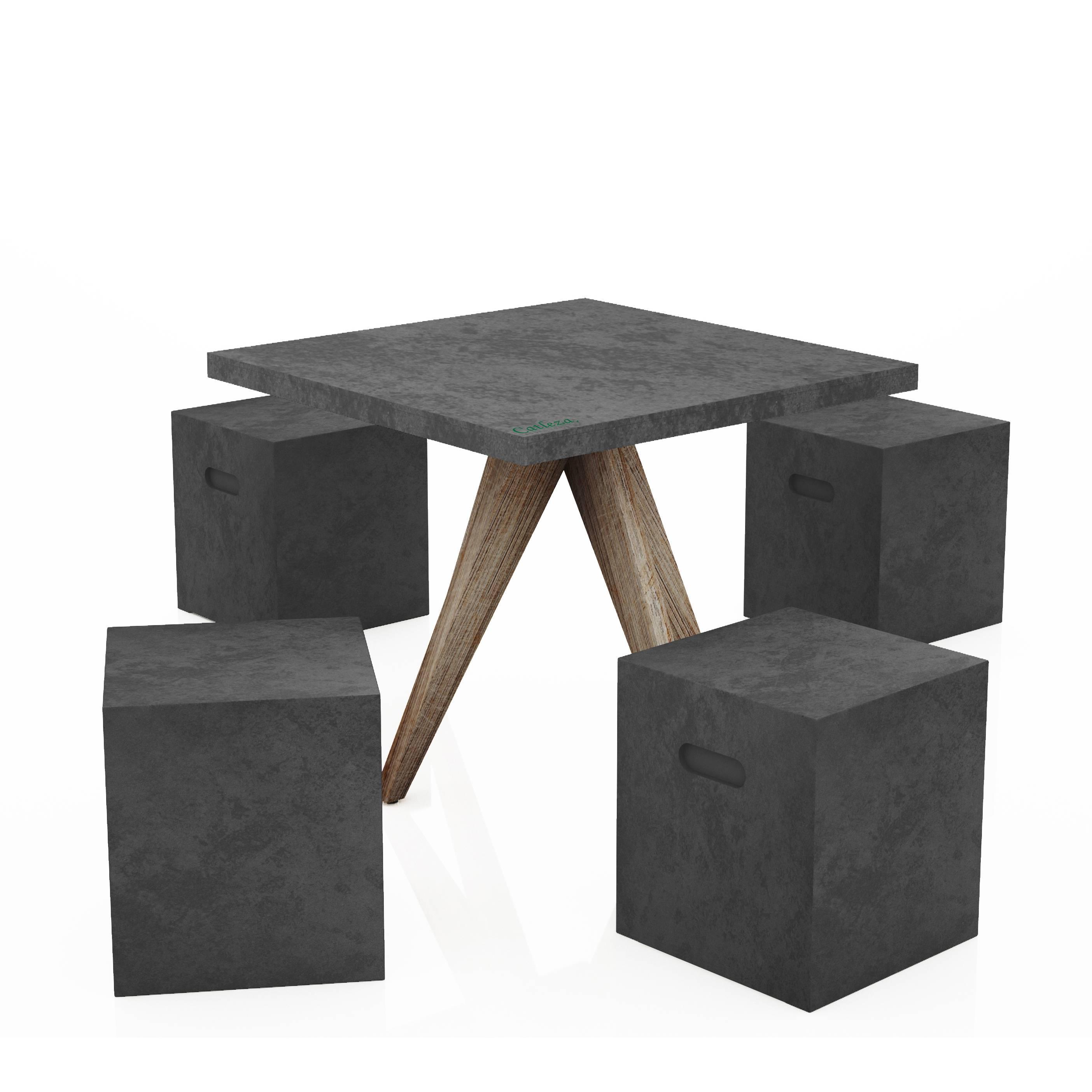 Bộ bàn Cement fiber3/5