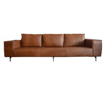 Sofa da Cognac 3 chỗ