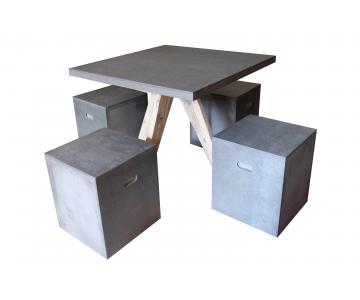 Bộ bàn Cement fiber
