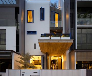 Thiết kế nhà tối ưu hóa không gian sống tại Singapore