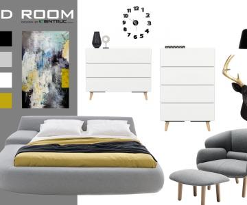 Mix nội thất cho phòng ngủ hiện đại1945