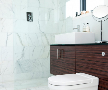 """Những mẫu phụ kiện trang trí cho phòng tắm thêm """"sang chảnh"""""""