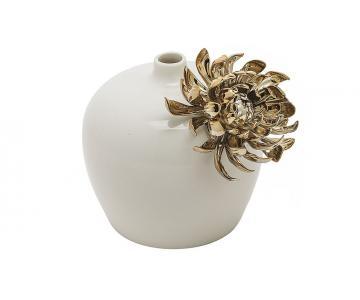 Bình hoa Sicily trắng