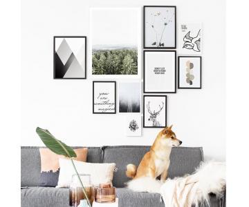Set tranh treo tường nghệ thuật - Modern Life