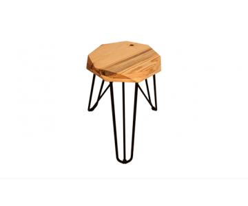 Ghế 3 chân gỗ thông