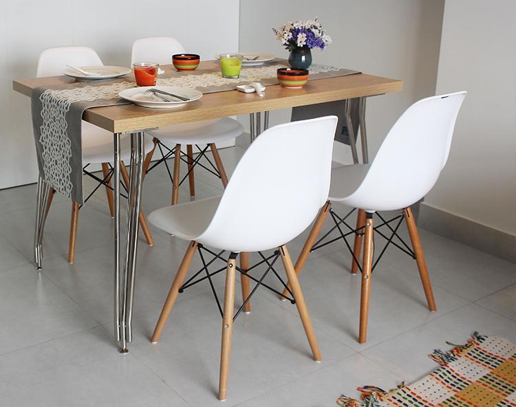 Bộ bàn ăn Max + 4 ghế Dura cao cấp8/8