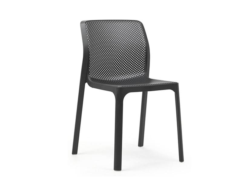 Ghế ngoài trời nhựa pp Mulan xám3/5