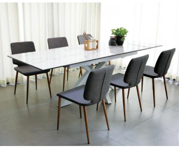 Bộ bàn ăn mở rộng Tesco 6 ghế