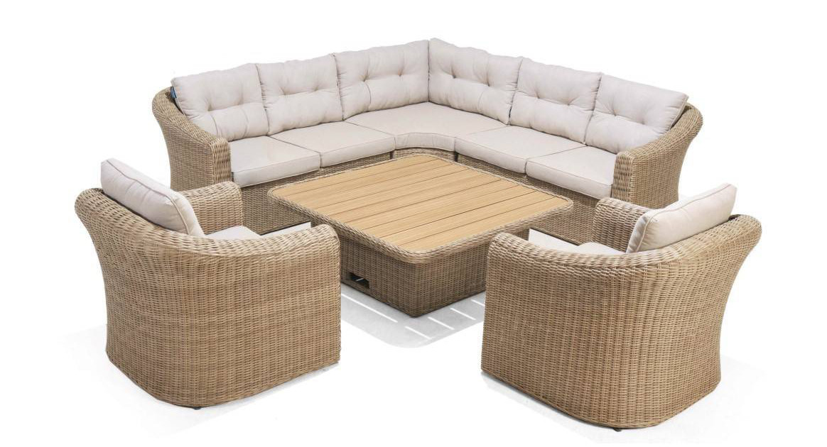 Martinique sofa deluxe set 1/8