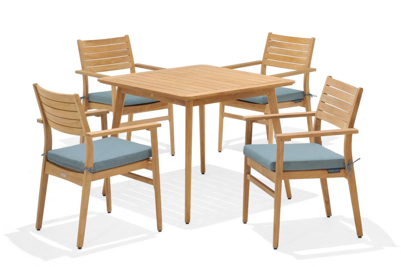 Bộ bàn ghế Eve 4-seater set1/7