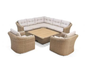 Martinique sofa deluxe set