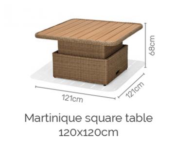 Martinique sofa deluxe set 3/8