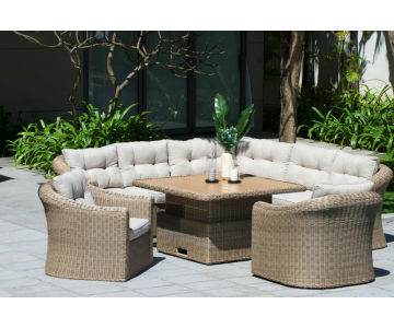 Martinique sofa deluxe set 8/8