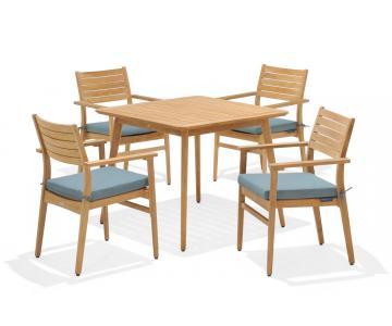 Bộ bàn ghế Eve 4-seater set