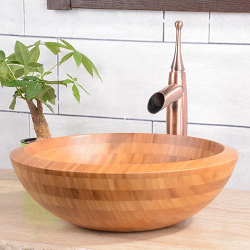 Lavabo bằng gỗ tre Kanly LTE114/5