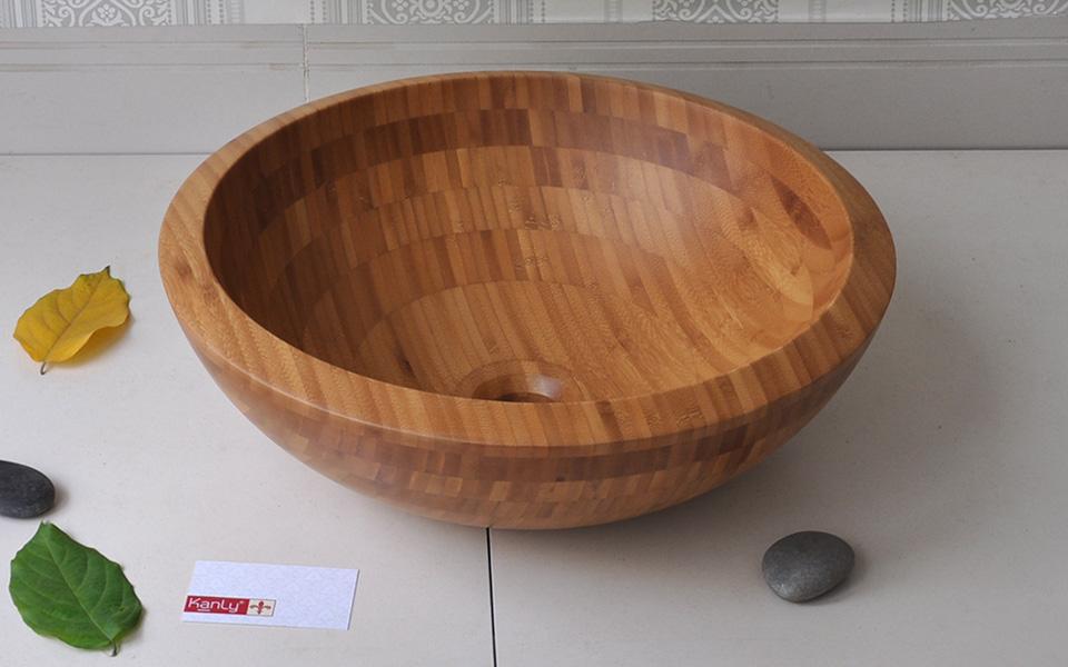 Lavabo bằng gỗ tre Kanly LTE113/5