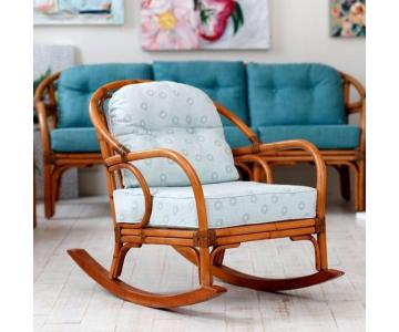 Ghế Mây Rocking Chair