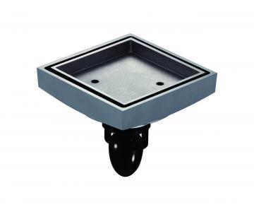 Phễu thoát sàn vuông từ tính chống hôi chống trào ngược