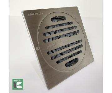 Phễu thoát sàn chống mùi inox304 mờ Magdrain PC30Q3-B4/12
