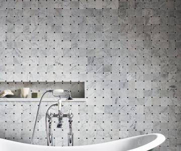 Mosaic đá tự nhiên là lựa chọn lý tưởng làm tươi mát không gian nhà bạn.