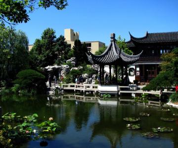 Nét đặc trưng của sân vườn Trung Quốc