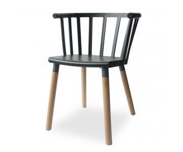 Ghế nhựa Callisto BAP cao cấp chân gỗ