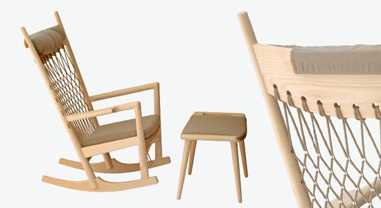 Ghế PP124 - Rocking chair3/3