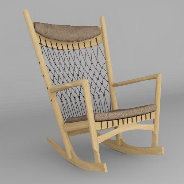 Ghế PP124 - Rocking chair2/3