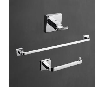 Bộ 3 Thanh Treo Khăn Tắm Mạ Chrome Bóng | Bathroom Hook