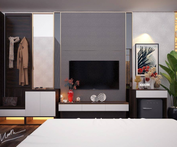 Chia Sẻ File 3D Phòng Khách Sạn