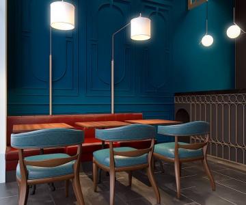 Quán Cafe Mang Phong Cách Châu Âu | by TD Architects