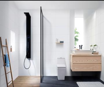 SKIVE - Bộ sưu tập thiết bị phòng tắm dành cho những người yêu thích sự tối giản