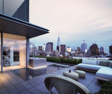 10 ngôi nhà có tầm nhìn sân thượng đẹp nhất