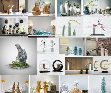 Tổng hợp 400 model 3DMAX decor trang trí