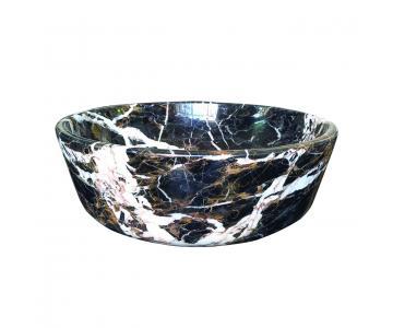 Lavabo tròn bằng đá tự nhiên