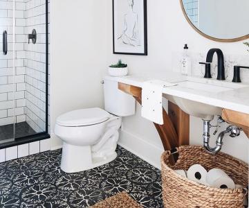 Mười phong cách thiết kế nhà vệ sinh diện tích nhỏ với buồng tắm riêng59987