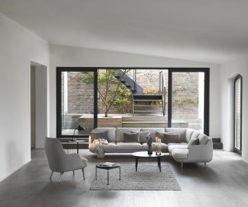 Sofa Fritz Hansen cho nội thất hiện đại