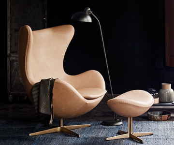 Egg - ghế bành của Arne Jacobsen