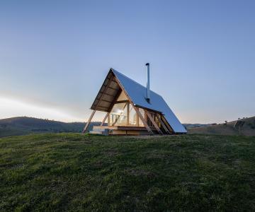 Nhà lều nghỉ dưỡng của Kimo Estate / Anthony Hunt Design và Kiến trúc sư Luke Stanley